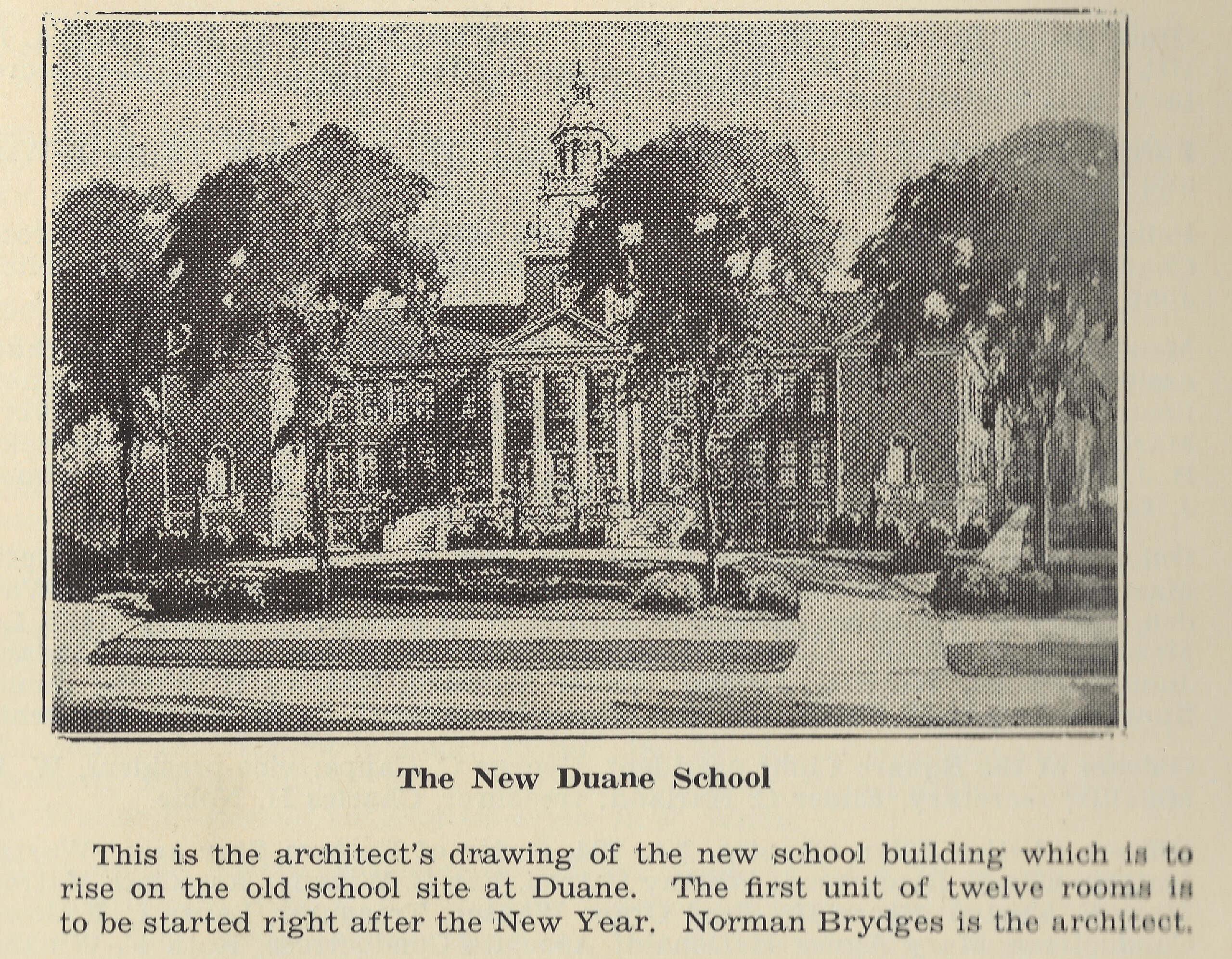 Rendering of The Duane St Junior High - This Place Matters